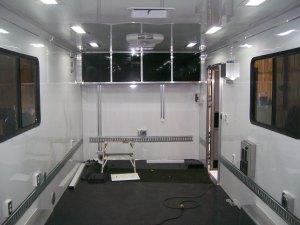 Mobile Showroom (int. facing forward)